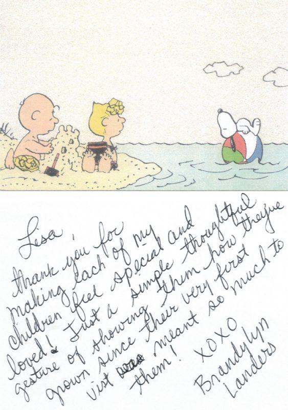 Brandylyn Letter