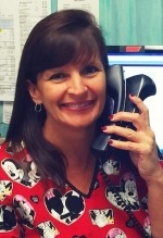 Kathy, Receptionist